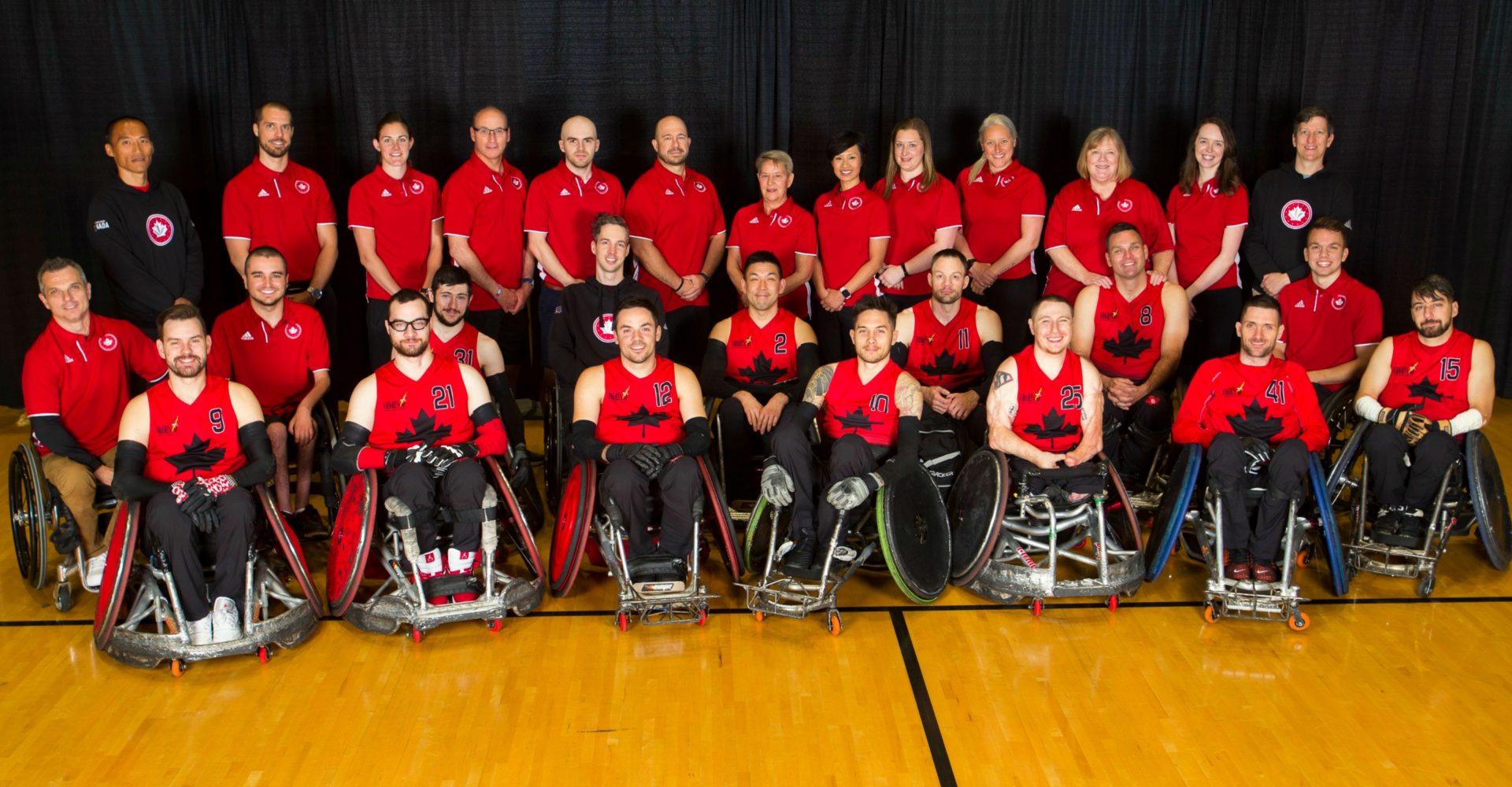 Rugby en fauteuil roulant Canada annonce son équipe pour le Championnat du monde de rugby en fauteuil roulant de 2018