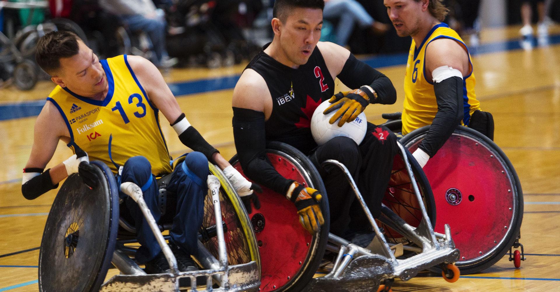Le Comité paralympique canadien et CBC Sports s'associent pour diffuser les Championnats du monde de rugby en fauteuil roulant GIO 2018 de l'IWRF