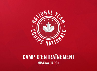 Équipe Canada va tenir son premier stage d'entraînement à Misawa, au Japon