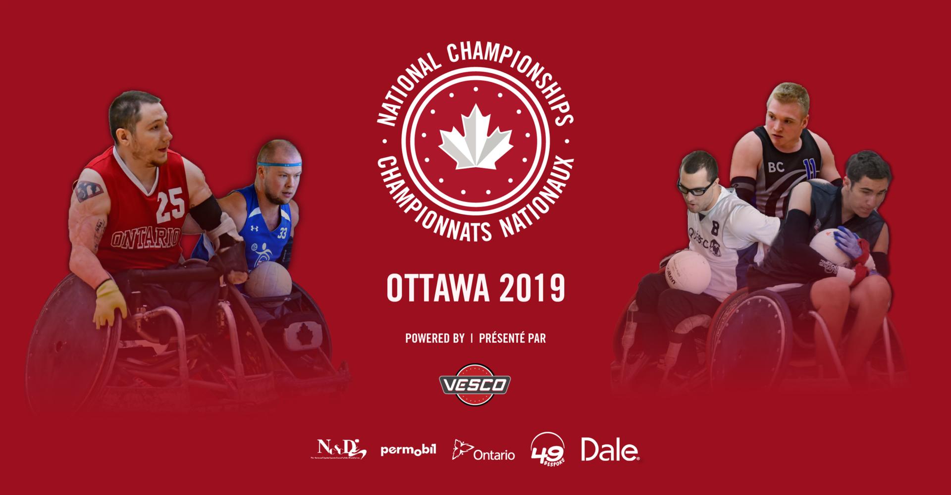 BIENVENUE AUX CHAMPIONNATS NATIONAUX 2019!