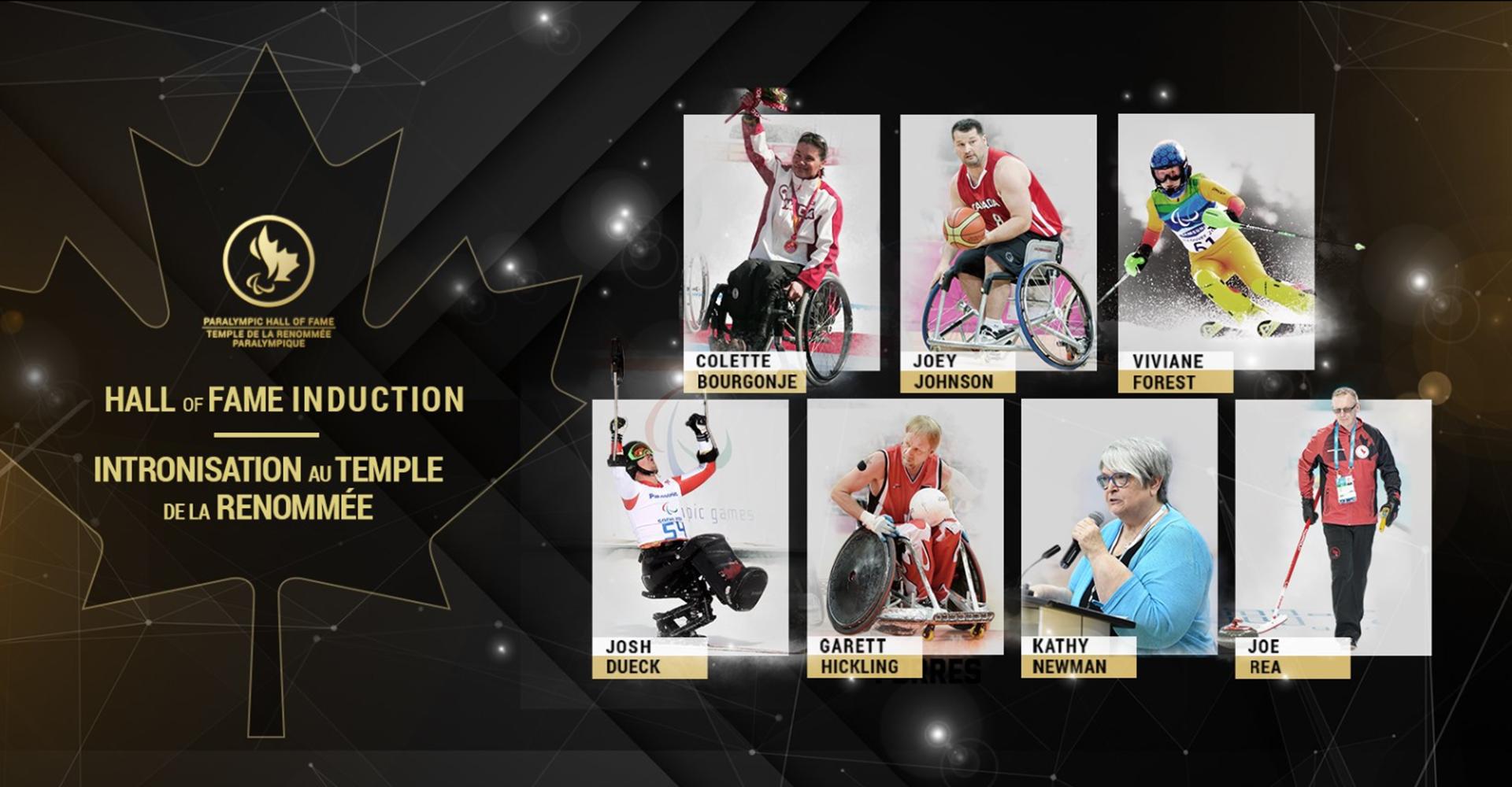 Garett Hickling et Kathy Newman nommés au Temple de la renommée paralympique canadienne