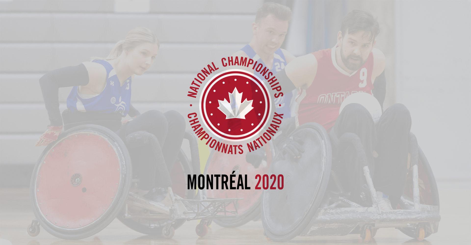 LES CHAMPIONNATS NATIONAUX 2020 SE TIENDRA À MONTRÉAL