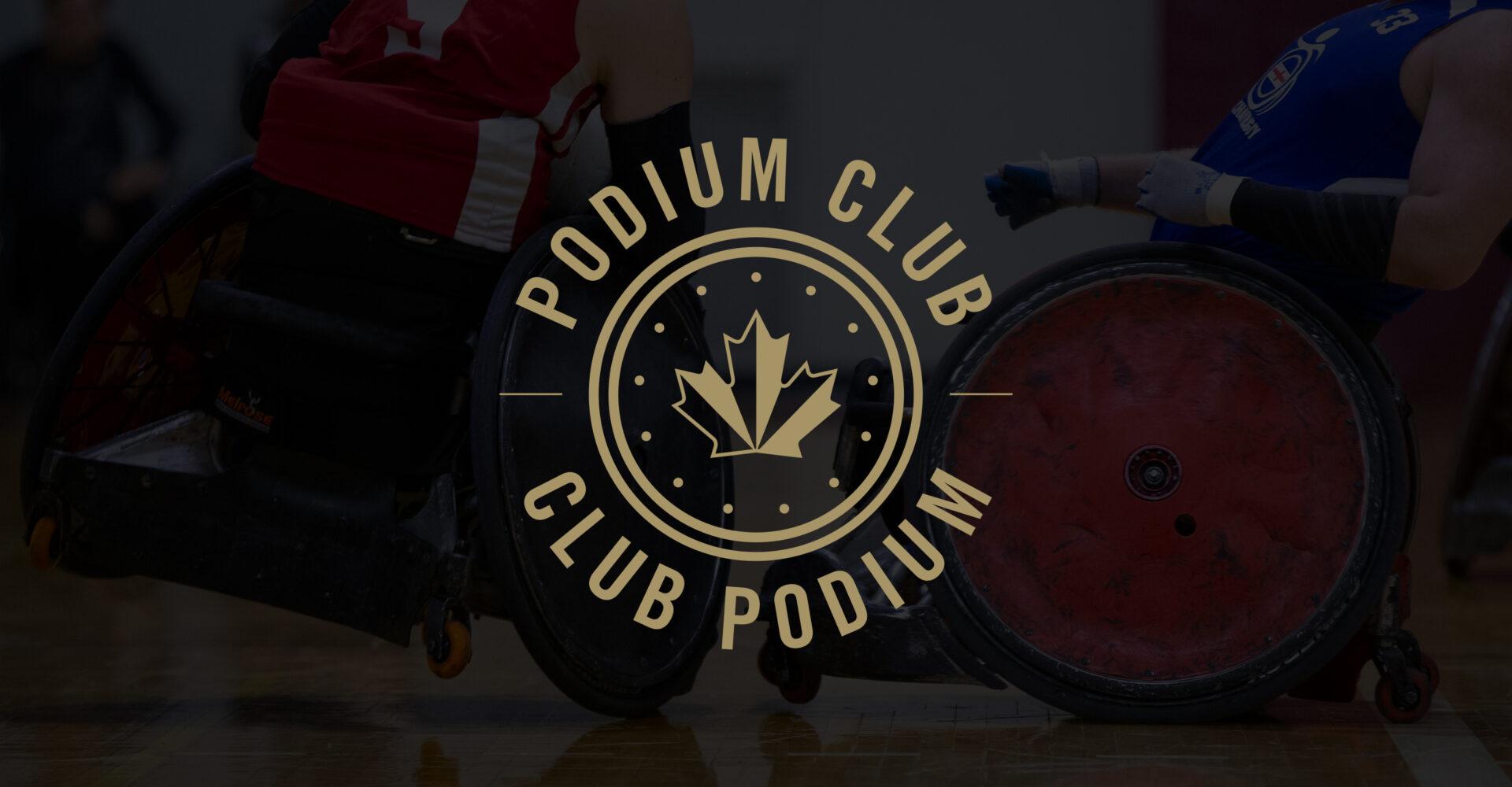Annonce du club podium 2020-21